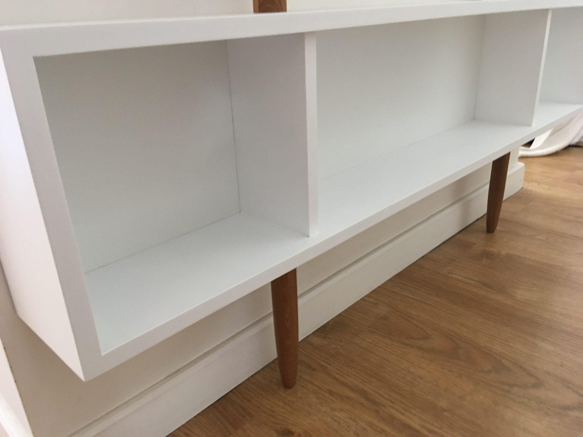 Estante Valchromat e Carvalho - Bibliothèque en Valchromat et chêne massif